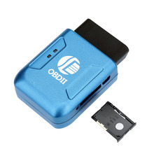 Car GPS locator Tracker OBDII Interface Realtime Tracker Car Mini Tracking Device System Universal GPS Tracker OBD2 Interface(China (Mainland))