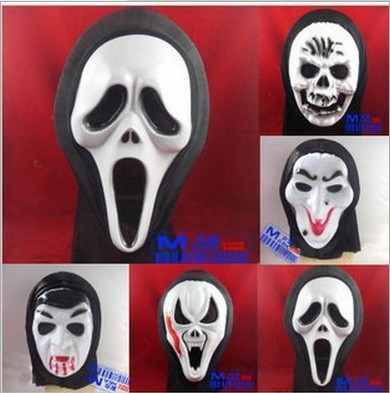 A god of death to the 2014 Monolithic horror ghost masks Scream mask Wholesale Halloween face mask(China (Mainland))