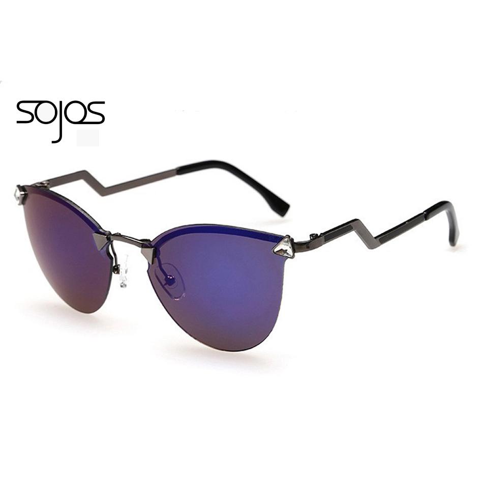 Rimless Glasses Fashion : 2016 New Fashion Round sunglasses Rimless sun glasses ...
