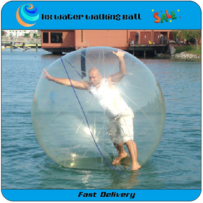 2015 Hot Selling 2M 100% PVC Material Inflatable Water Walking Ball, Water Zorb Ball(China (Mainland))
