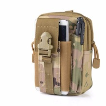 Buy Waterproof 600D Nylon Casual Waist Bag Men's Military Fanny Pack Waist Pack Purse Camo Flashlight Case Iphone 6 6s 7 Plus for $9.39 in AliExpress store