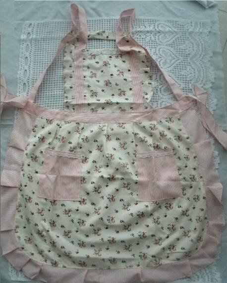 Pretty cotton blend Country Style Rose Printing Kitchen /Cooking/Baking Apron(China (Mainland))