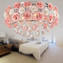 new arrival Led rose crystal lamp brief fashion fashion light restaurant pendant light lighting  free shipping(China (Mainland))