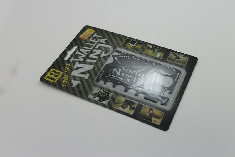 1PCS 18 in 1 spot multifunction wallet wallet ninja ninja tool pocketknife card free shipping