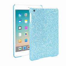 Fashion Shining Glitter Hard PC Tablet Back Case For iPad Mini 1 2 3 7.9 inch Shockproof Cover Case 5 Colors(China (Mainland))