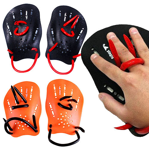 New Webbed Gloves Swim Gear Swimming Fins Hand Flippers Training Gloves Adult Children Swimming Flippers Swimming Hand Paddles(China (Mainland))