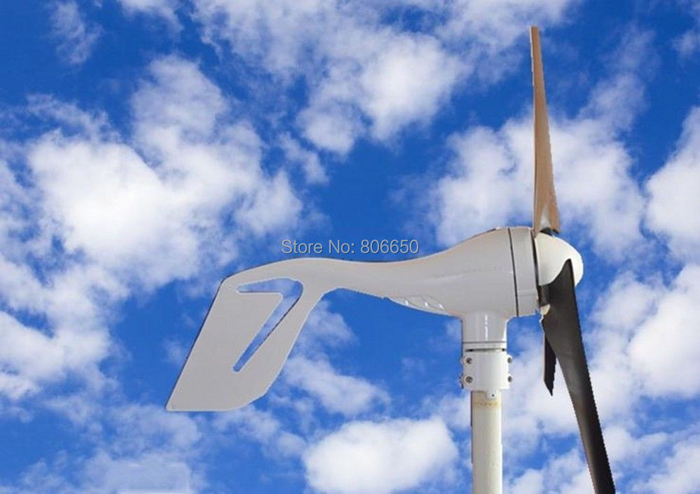400W Wind Turbine Generator with solar hybrid controller 12/24V auto work for led street light solar light solar lamp(China (Mainland))