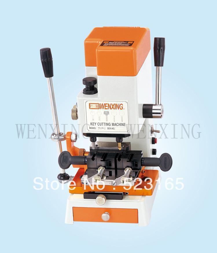 Wenxing 398AC key cutting machine car key making machine copy machine locksmith supplier(China (Mainland))