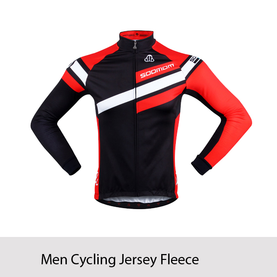 2015 New SOOMOM Winter Thermal Fleece Cycling Bike Bicycle Long Sleeve Jersey Ciclismo Outwear Jerseys- Monk S~3XL(China (Mainland))
