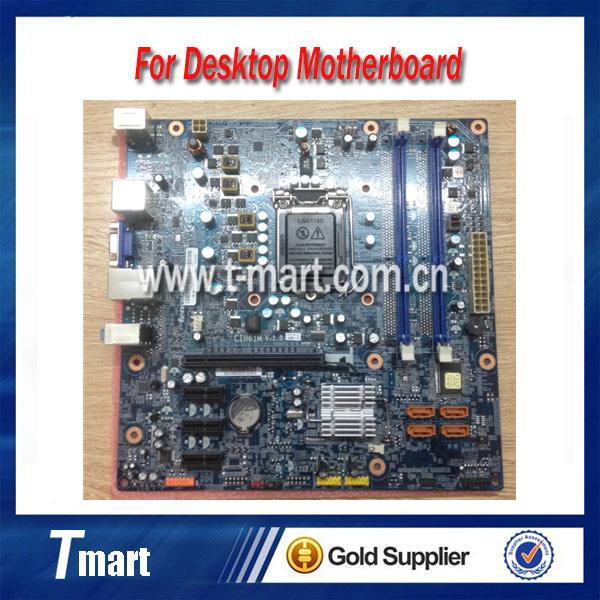 100% working Desktop motherboard for Lenovo H420 H61 F4160 F328 K330B CIH61M E3560 E2688 System Board fully tested<br><br>Aliexpress