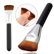 2015 Hot small flat contour brush repair face brush  makeup essential tools  factory direct  free shipping S413