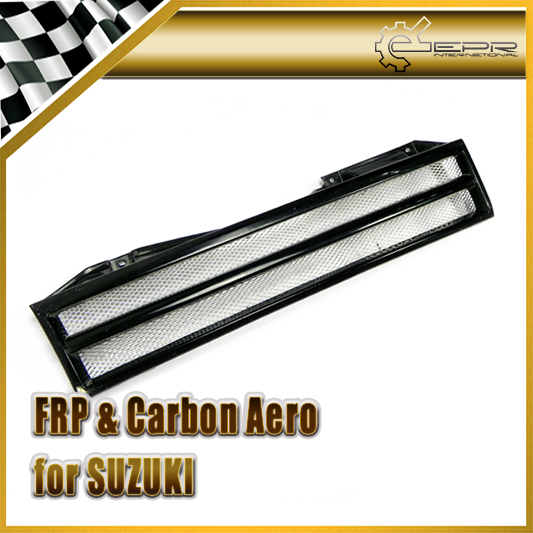 Car Styling For Suzuki Jimny Type 1 Carbon Fiber Front Grille Grill Mesh<br><br>Aliexpress