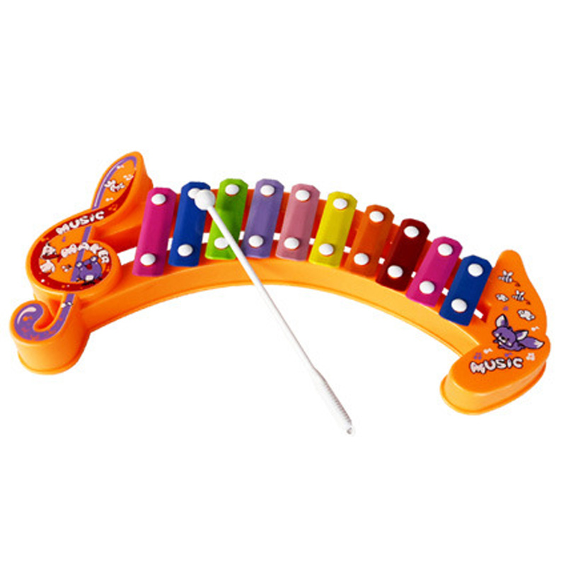 Little piano knock Baby toys ,teether rattle chicco tiff 925 pram teethers maracas sozzy obal playgro bibi taggies mobile bebe(China (Mainland))