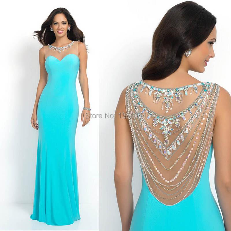 Teal Prom Dresses 2014 Teal Color Prom Dresses