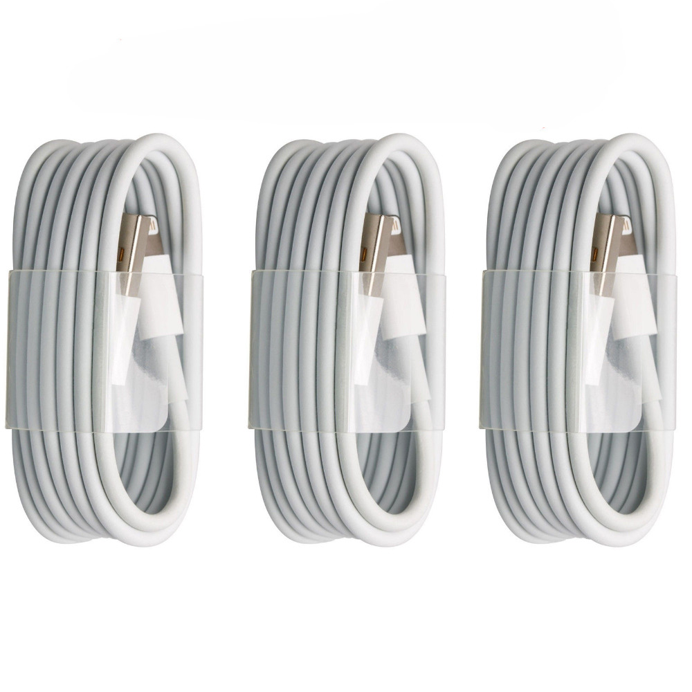 High Quality USB Sync & Charger Data Lead Cable For Apple iPhone 5 5S 5C SE 6 6S 7 Plus iPad 4 Air Mini(China (Mainland))