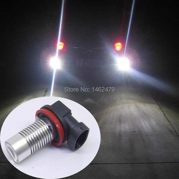 2x H11 CREE Chips Q5 5W LED Car Fog Light Bulbs White FORD MONDEO MK3 MK4 C-MAX S-MAX FOCUS 01+ FUSION - Shenzhen City Superstar Technology Co., Ltd. store
