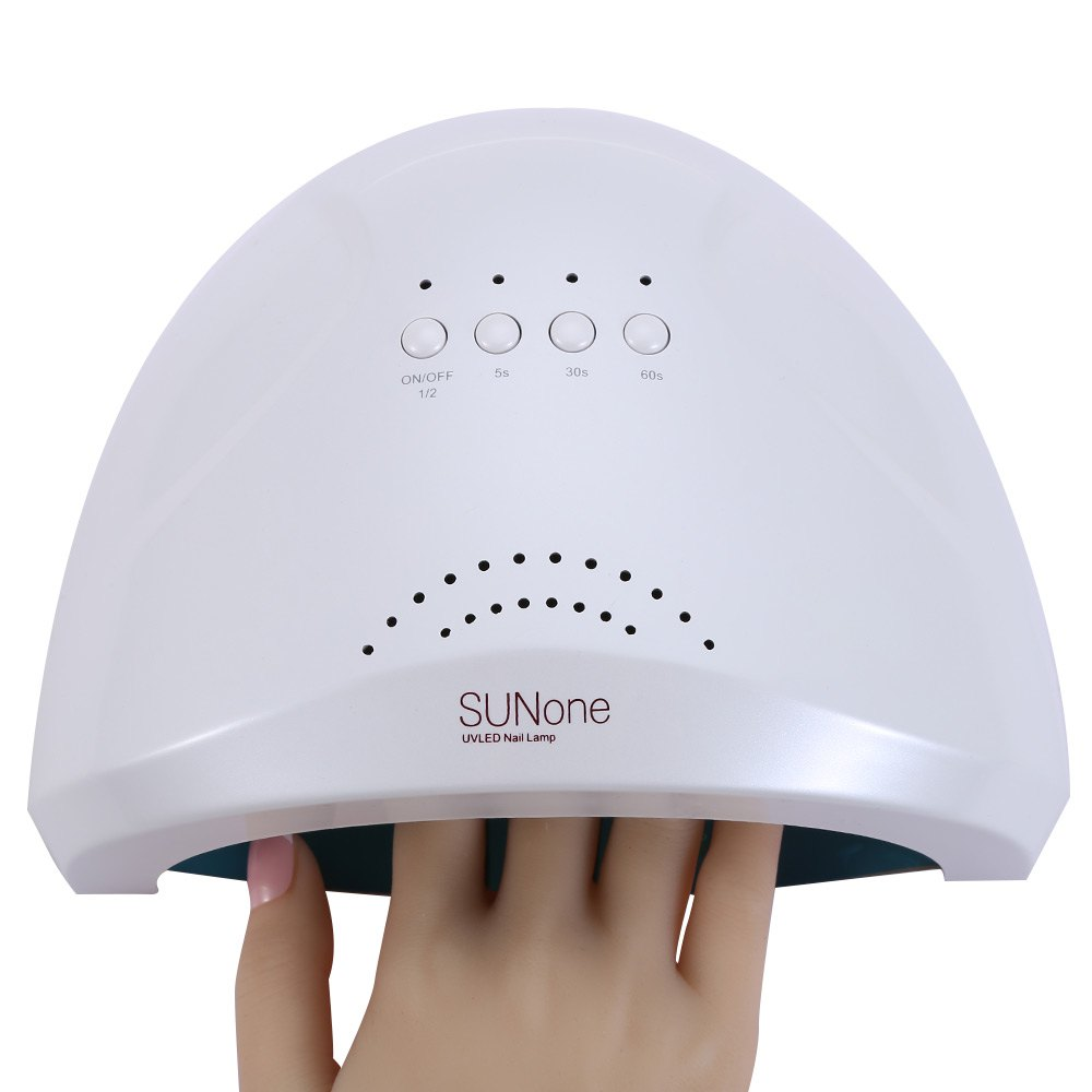 2016 New Professional 48W Manicure Tool UV / LED Phototherapy Nail Gel Lamp High Quality Nail Dryer Drying Tools for Nails(China (Mainland))