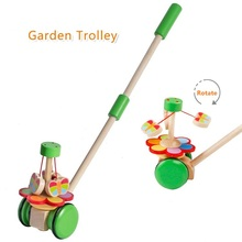 Cartoon Toddler Toy Baby Toddler 1-3 year Old Wooden Single Rod Educational Toys(China (Mainland))