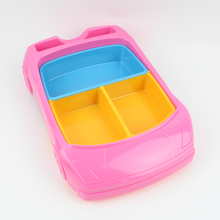 3D car design baby food plates ABS dinner plates interestingly dinnerware sets ages 10months and up(China (Mainland))
