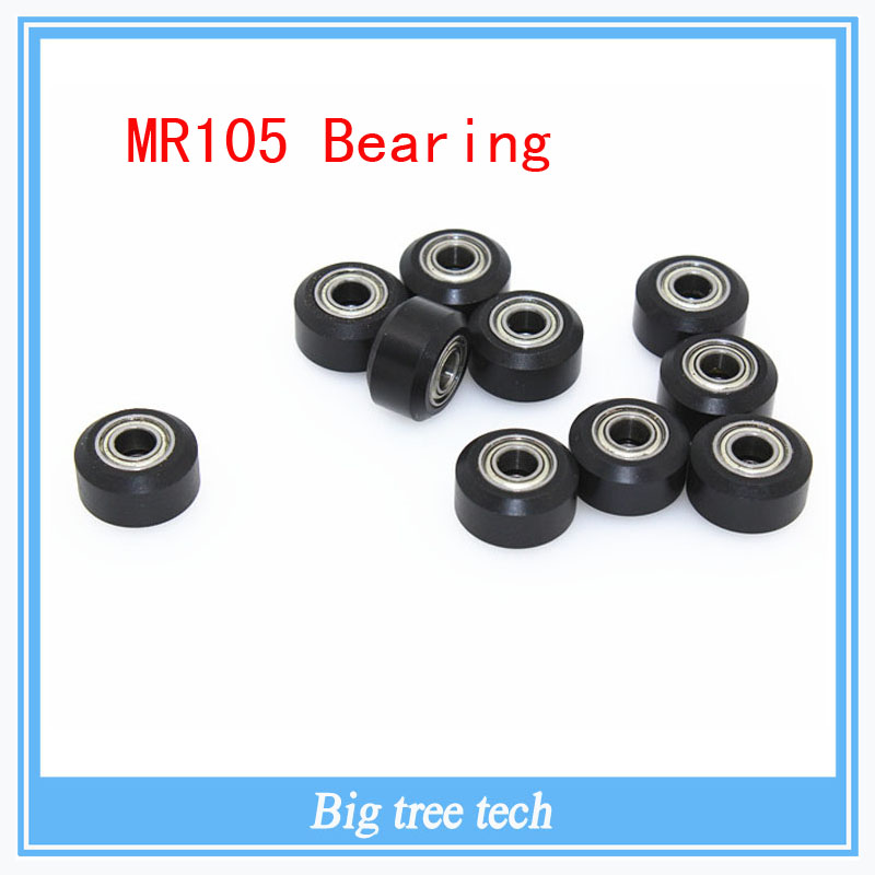 C beam Openbuilds Plastic wheel POM with MR105 Bearings Small Models Passive Round wheel Idler Pulley