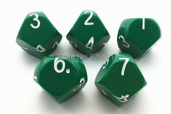 7 sided dice online
