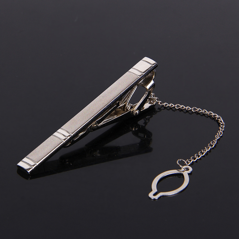 Men Metal Classic Simple Tie Clips Man Silver Tie clip Male Fashion Alloy Clips for Gift High quality Free Shipping(China (Mainland))