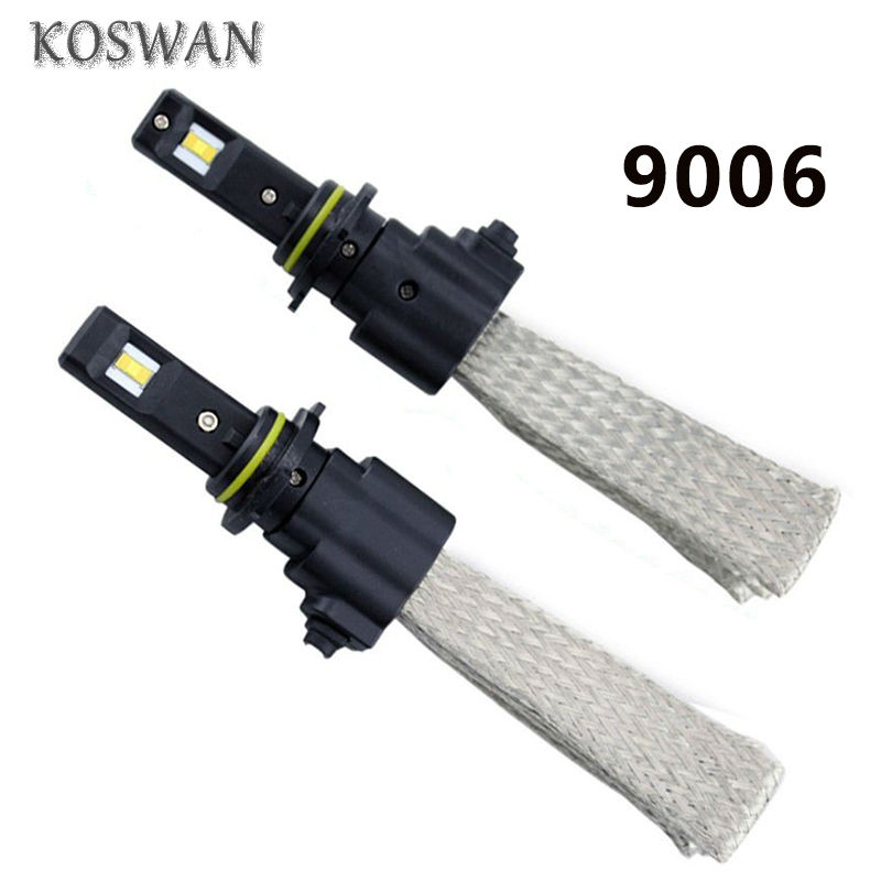9006 CREE 40W LED Car Headlight Kit 3200LM LED Headlight Bulb Kit Super Strong 6500K White Blub 9006 LED Head Lamp Bulb HB4(China (Mainland))