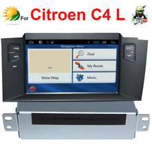 Android car dvd player for Citroen C4L dvd gps Navigation Bluetooth TV 3G WIFI USB SD Touch screen car radio 2011 2012 2013 2014