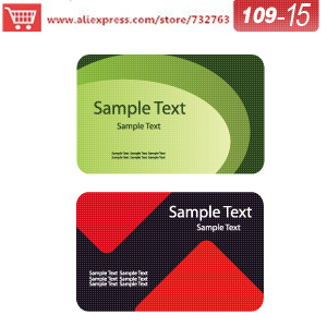 0109-15 business card template for seed paper cards custom shaped business cards create your own cards<br><br>Aliexpress
