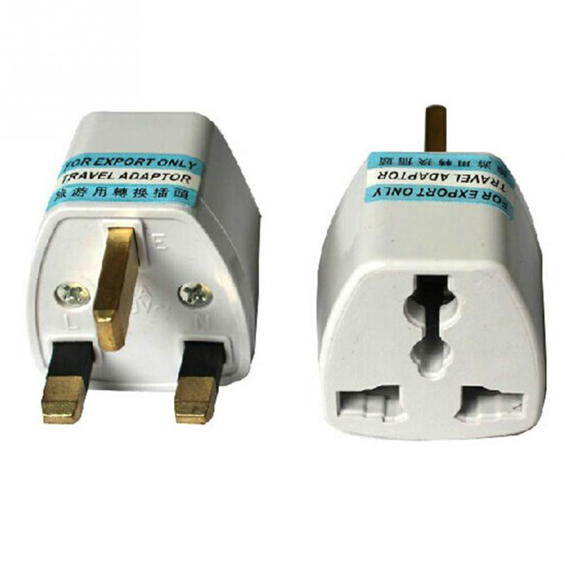 US To UK plug adapter Grounded Universal Plug Adapter for UK Accepts plugs travel Phone Charger Accessories(China (Mainland))