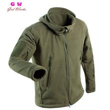 2016 Winter Hunting Military Polar Fleece Jacket Warm Tactical Jacket Men Thermal Outdoor men Polartec Softshell Jacket Army(China (Mainland))