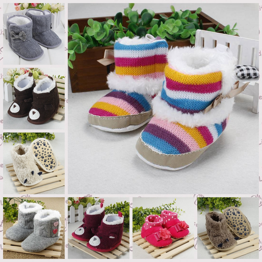 2016 Winter Soft Soles Baby Boots Comfortable Fashionable Style Baby Shoes Warm Cute soft sole Appearance Toddler Shoes R7221(China (Mainland))