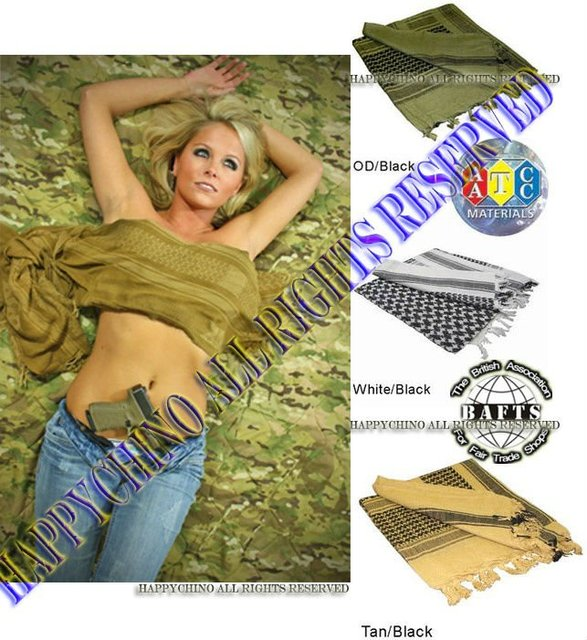 HandMade Shemaugh,Turban,headscarf,US Army Arab SAS Shemagh,Yashmagh,Arafat, BlackHawk Tacti