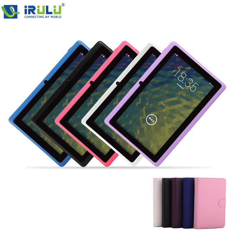 iRULU eXpro X1 7'' Tablet PC Android 4.4 16GB ROM Quad Core 1024*600 HD Dual Camera Support WIFI Tablet Keyboard gift New Hot(China (Mainland))