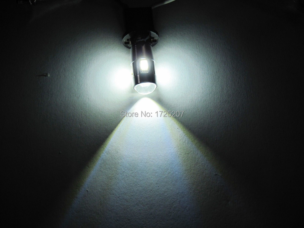 2PC lot Free shipping Car Auto LED T10 194 W5W Canbus 6 smd 5630 cree LED