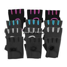 1pair Sports Gloves Fitness Exercise Training Gym Gloves Half Finger Weightlifting Gloves Multifunction for Men Women(China (Mainland))