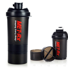 500ml 3 in 1 Powder Fitness Milkshake Coffee  My Drink Cup Bottle for Water Sports Shaker for Protein