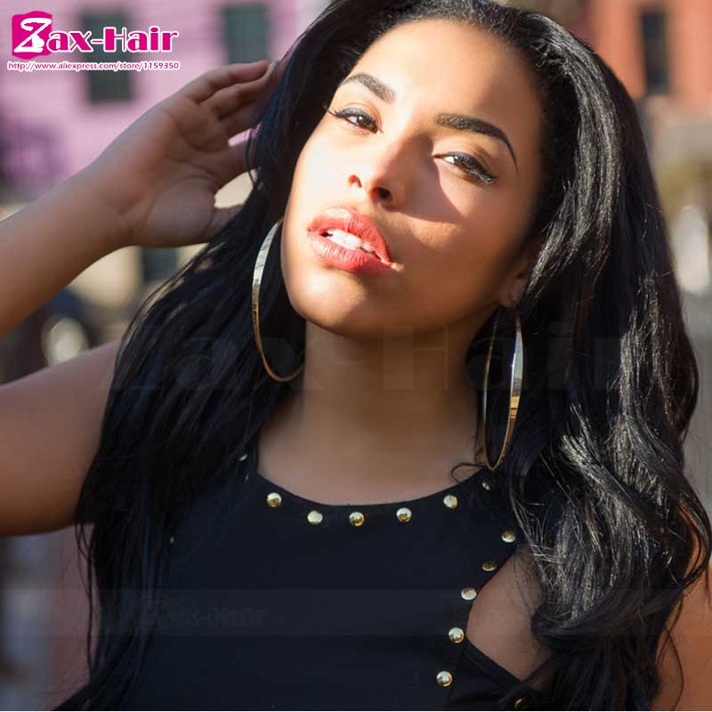 Фотография glueless full lace wig virgin hair customized for black women lace frontal Grade 7a bleached knots baby hair peruvian virgin