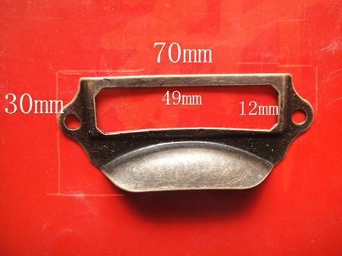Drawer handle label brand label Vintage cabinet door handle card old drawer label accessories wholesale Free shipping(China (Mainland))