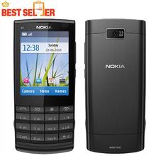 X3-02 Original Unlocked Nokia X3-02 phone GSM 3G 5 Colors Wifi Bluetooth 5MP Camera Cheap Cell phone(China (Mainland))