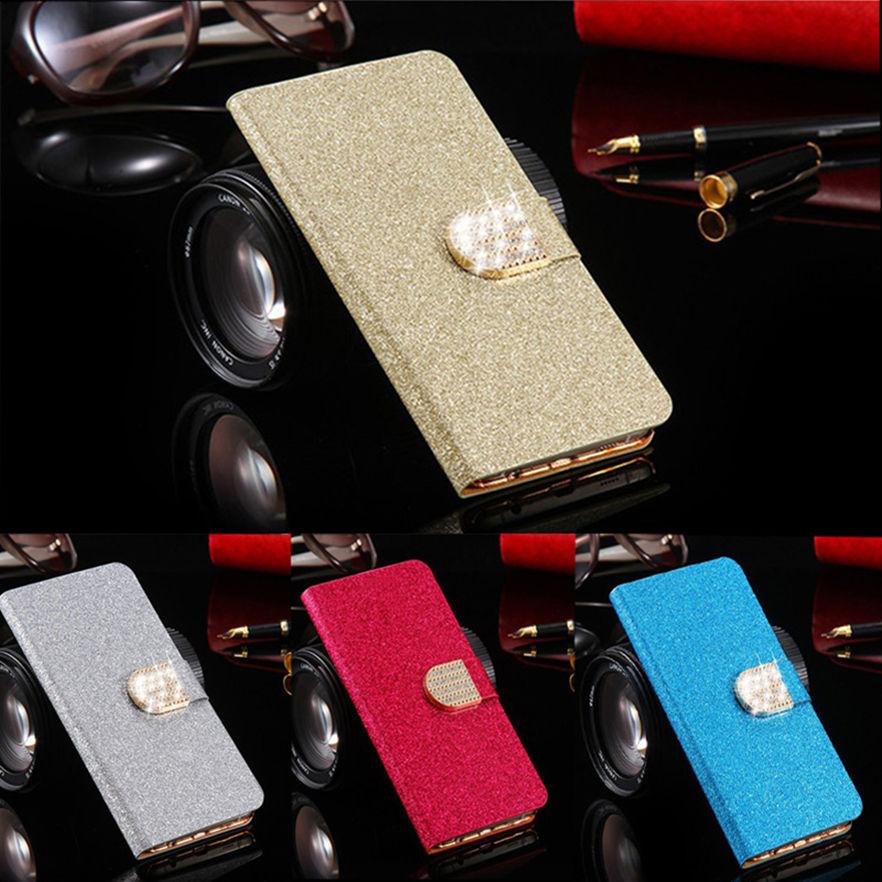 For Apple Iphone 4 4S Case Luxury Bling Crystal Flip PU Leather Wallet Phone Bag For Iphone 4S With Card Slot 2016 New(China (Mainland))