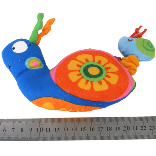 Unique Sale!The snail shock puzzle hand puppet doll(China (Mainland))