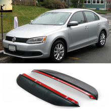 Buy car styling VW Volkswagen Jetta A6 NCS 2011 now Auto rearview mirror rain eyebrow decoration car-styling for $10.00 in AliExpress store