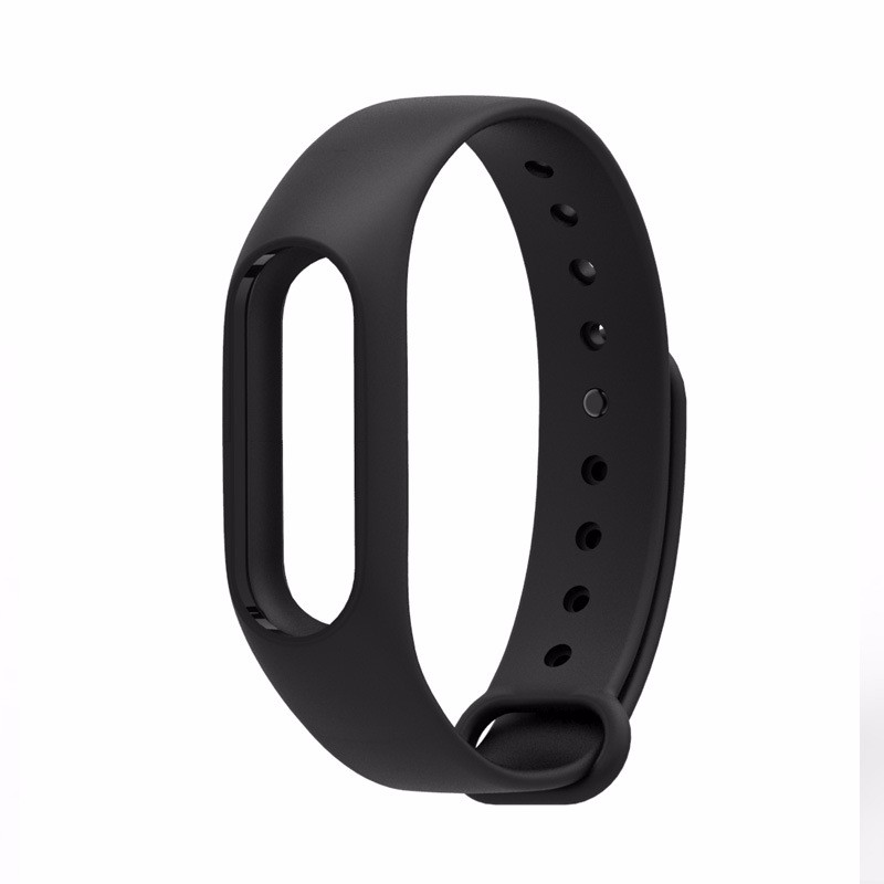 image for Replacement Wristband Silicon Strap For Xiaomi Mi Band 2 Smart Bracele