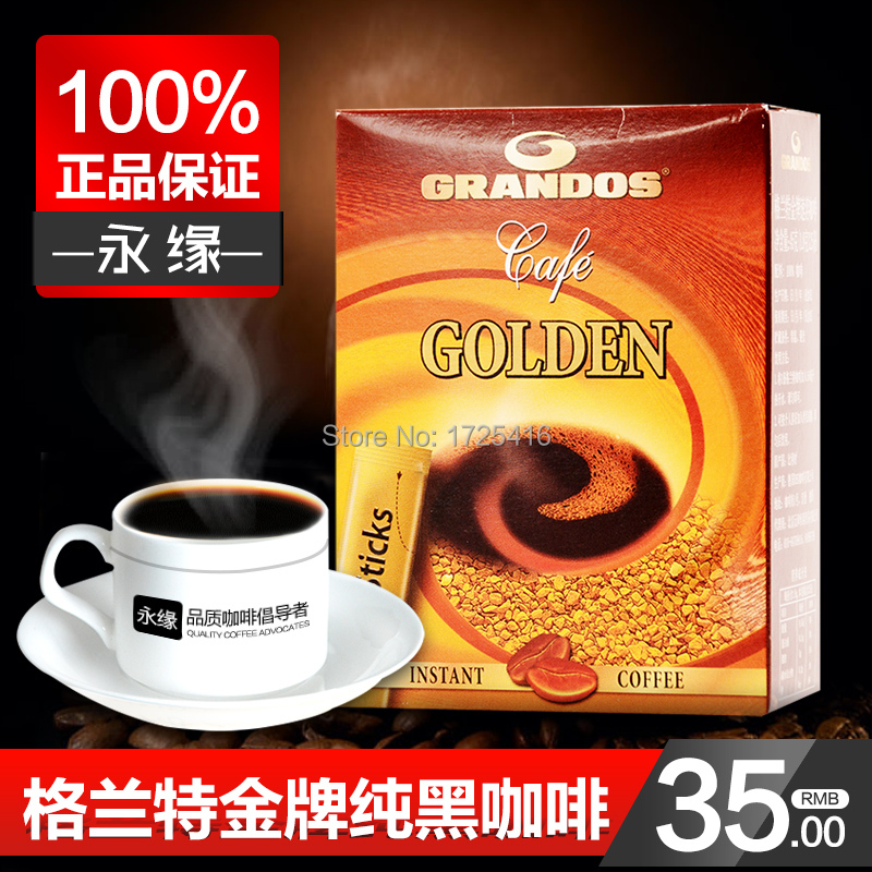 Belgium imports of black coffee imported Grant Pure Gold Coffee 45g free shipping