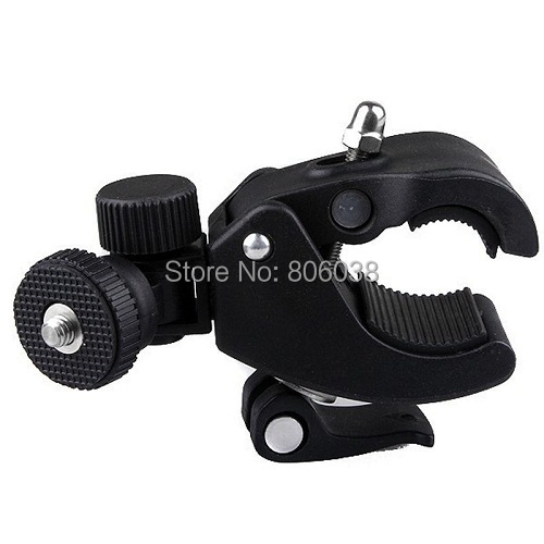 GoPro Accessory Quick Clip Bicycle Bike Mount with Tripod Adaptor for Hero1 2 3 3 Cameras