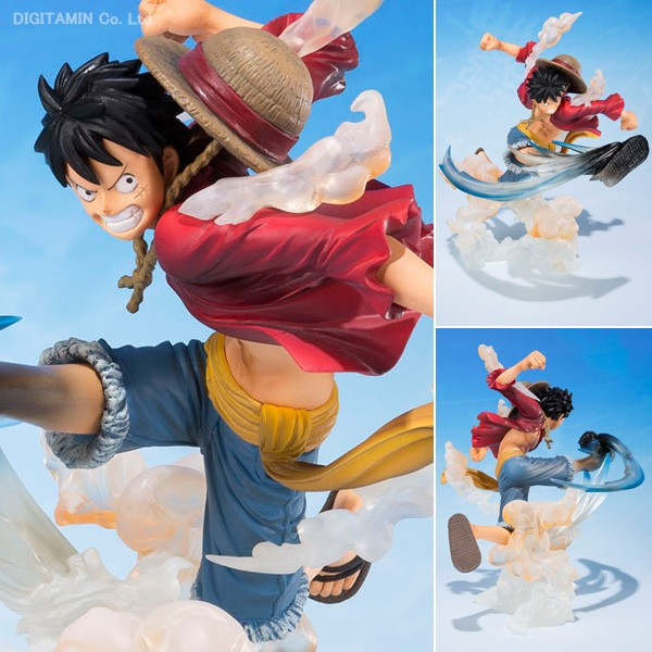 One Piece Figure Luffy Figuarts ZERO 5th Action Figure 15CM Monkey D Luffy Skill Figurine One Piece Luffy Toys Juguetes(China (Mainland))