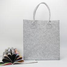 Brand New Shopping Bag, Designer Simply eco-friendly Felt Material Women shoulder bag ,Quality women handbags promotional gift(China (Mainland))