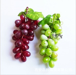 Freeshiping high artificial fruit toys grape dried flowers for Buy grape vines for crafts