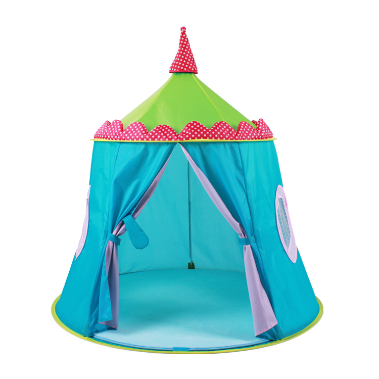 New Kids Play Game room children tent super blue Mongolia pack polyester cloth version indoor portable tent(China (Mainland))